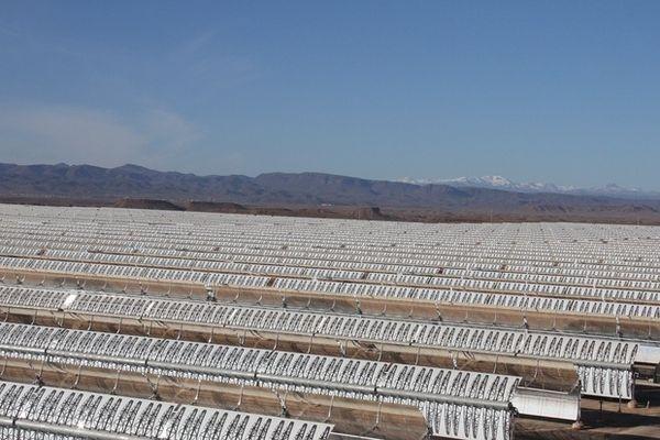 В Марокко запущена самая мощная в мире солнечная электростанция