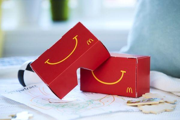 McDonalds предложил «хэппи мил» с очками виртуальной реальности