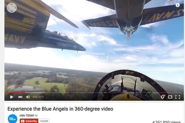 YouTube запускает прямые трансляции в панорамном режиме