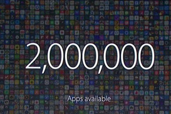 Количество приложений в App Store превысило 2 млн