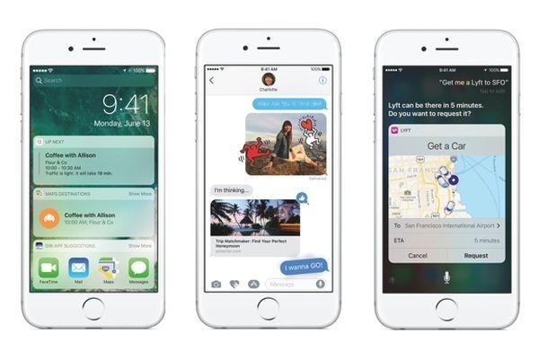 Apple выпустила публичные беты iOS 10 иmacOS Sierra