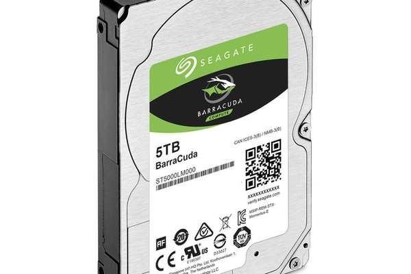 Seagate выпустила самый вместительный вмире жесткий диск на2,5 дюйма