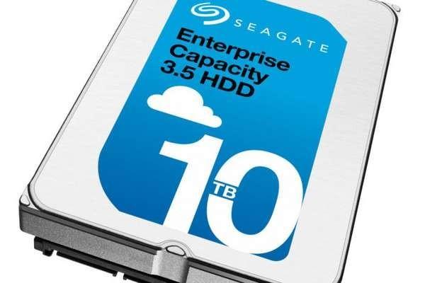 Seagate запланировала выпуск винчестеров на16 и20 ТБ
