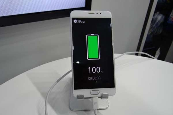Сверхбыстрая зарядка Meizu нескоро появится в телефонах