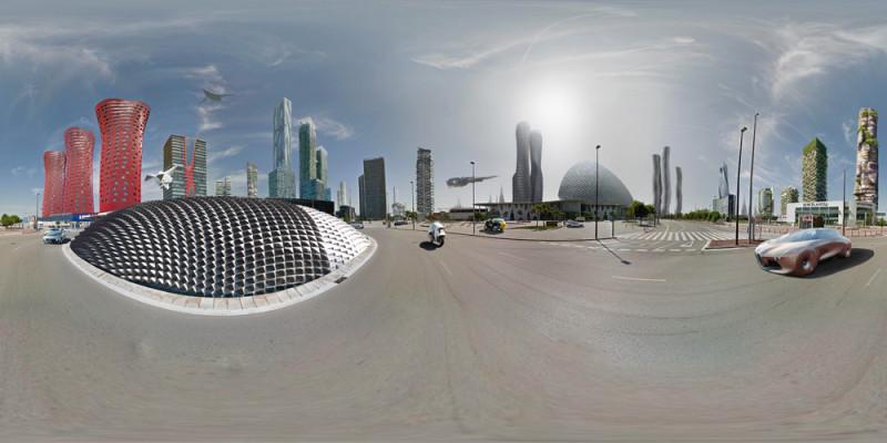 Создан 1-ый мультимедиа-проект обудущем «Земля 2050»