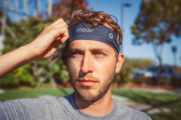 Повязка на голове меряет пульс точнее, чем браслеты