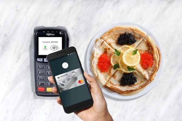 Сервис Android Pay заработал в России