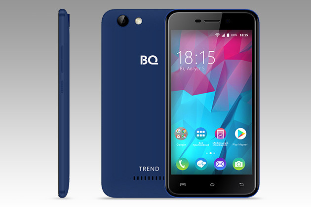 BQ-5000L Trend: смартфон с Android 7.0 Nougat за 4990 ...