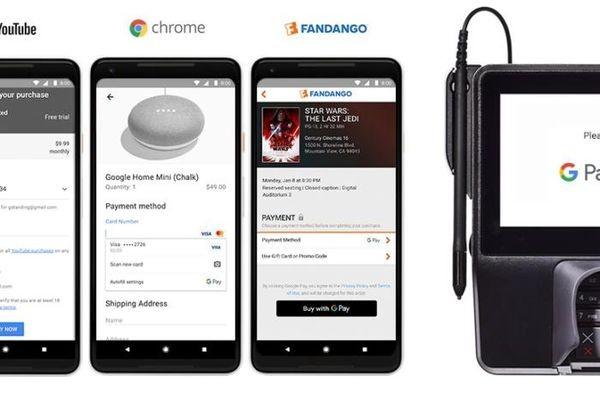 Google соединил свои платежные сервисы под брендом Google Pay