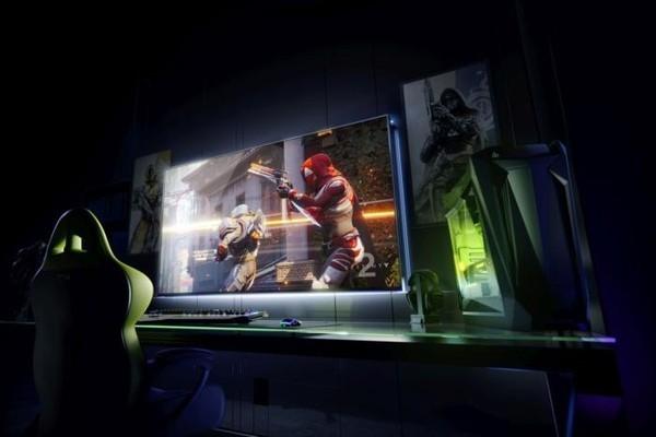 Nvidia представила огромные  ПК-дисплеи совстроенной консолью Shield