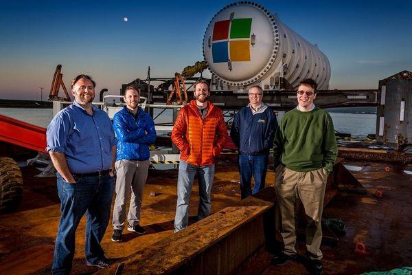 Microsoft тестирует подводный дата-центр