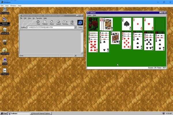 Windows 95 выпустили в виде «коллекционного» приложения