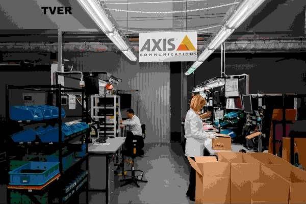 Axis расширяет ассортимент производимых в России видеокамер