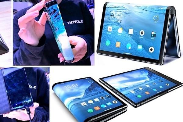 Выпущен первый в мире смартфон с гибким экраном