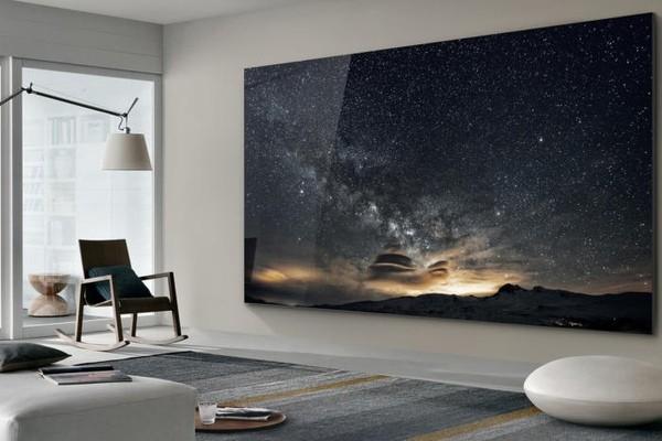 CES: Samsung демонстрирует телевизор-«стену» с экраном размером 219 дюймов