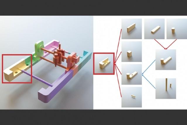 Искусственный интеллект конвертирует полигональные сетки в редактируемые 3D-модели