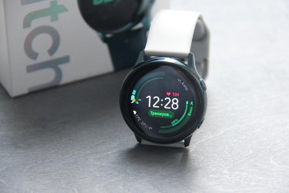 72d00a77 Обзор Samsung Galaxy Watch Active: универсальный солдат | Журнал ...