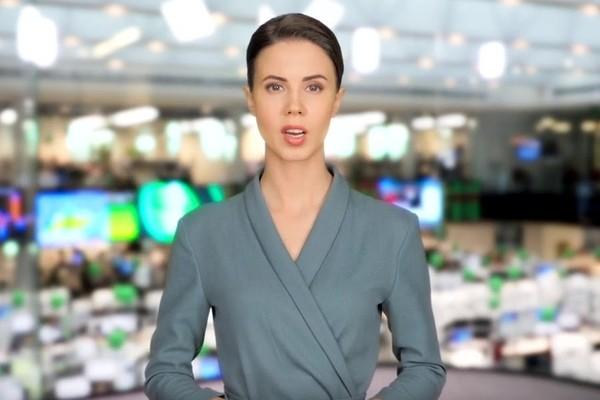 Сбербанк создал цифровую телеведущую новостей