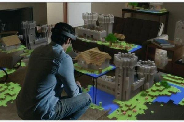 Microsoft, возможно, готовит к выпуску версию Minecraft в дополненной реальности