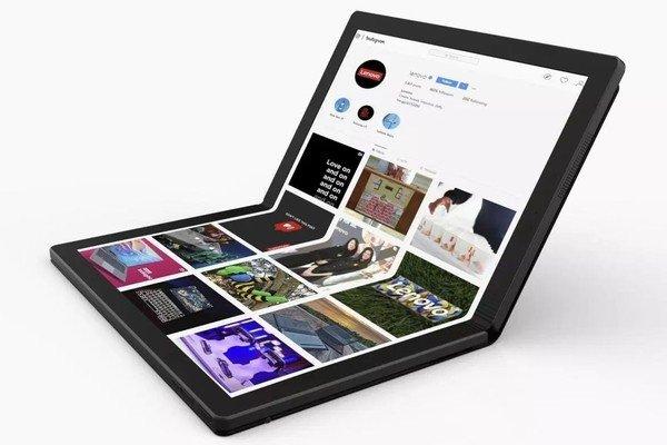 В Lenovo готовят собственный гаджет со складным экраном. Не смартфон