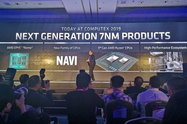Computex 2019: AMD играет мускулами, демонстрируя чипы на 7 нм