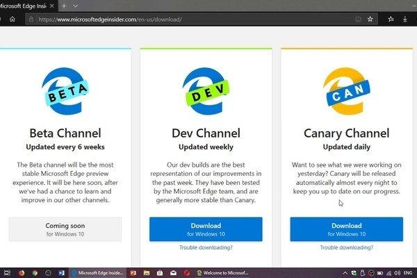 Microsoft рекомендует корпоративным пользователям браузер Edge