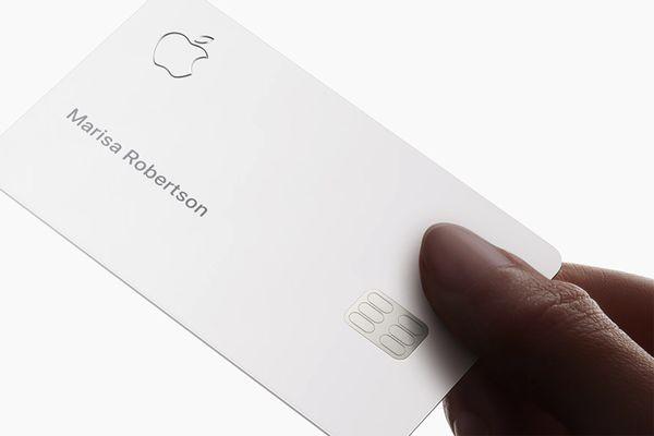 Кредитная карта Apple Card выйдет в августе