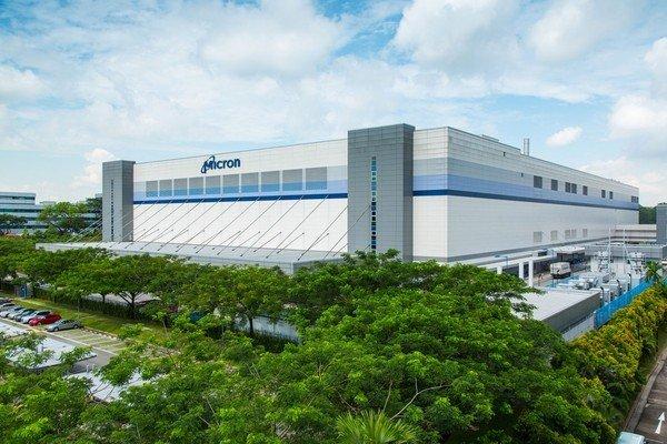 Завод Micron в Сингапуре переключился на выпуск памяти 3D NAND
