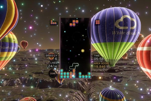 Tetris Effect: «Тетрис» на уровне искусства