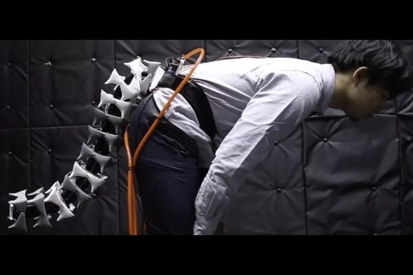 Роботизированный хвост защитит пожилых от падений