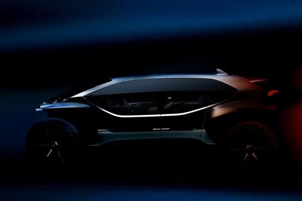 Audi знакомит с концептуальной моделью внедорожника-робота