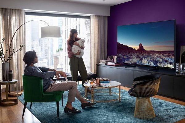 Samsung продемонстрировала 55-дюймовый телевизор с разрешением 8K