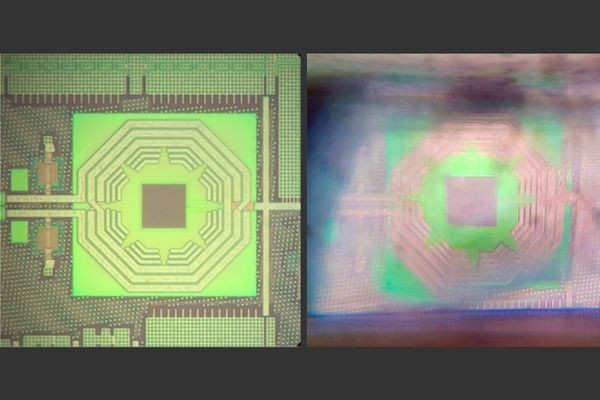 Квантовый датчик, занимавший целый стол, уместили в микрочипе