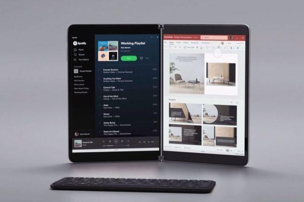 Microsoft представила Windows 10X — ОС для устройств с двумя экранами