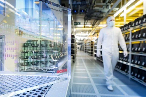 Bosch увеличит дальность поездок на электромобилях за счет чипов из карбида кремния
