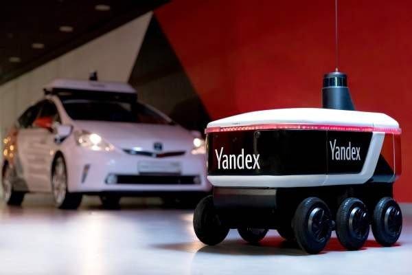«Яндекс» протестирует самоуправляемого робота-доставщика
