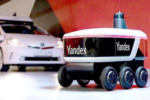 «Яндекс» тестирует беспилотного робота-курьера