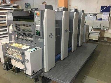Офсетная печатная машина Ryobi 524GX установлена в Перми