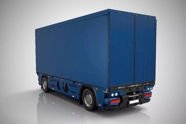 «КамАЗ» показал беспилотный грузовик без кабины