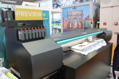 Roland DG покажет на FESPA 2020 высокопроизводительную печать на футболках