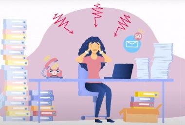 Инфографика: Как уменьшить негативные проявления хронического стресса?