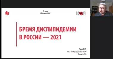 Бремя дислипидемии в России – 2021
