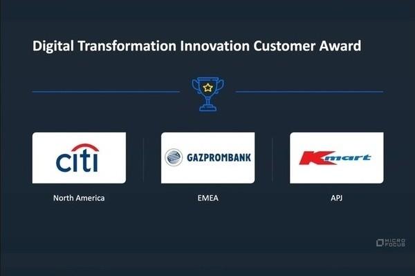 Газпромбанк удостоен престижной награды Micro Focus за инновации в области цифровой трансформации