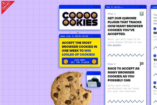 Сто фунтов печенья достанется тому, кто соберет больше всех cookie