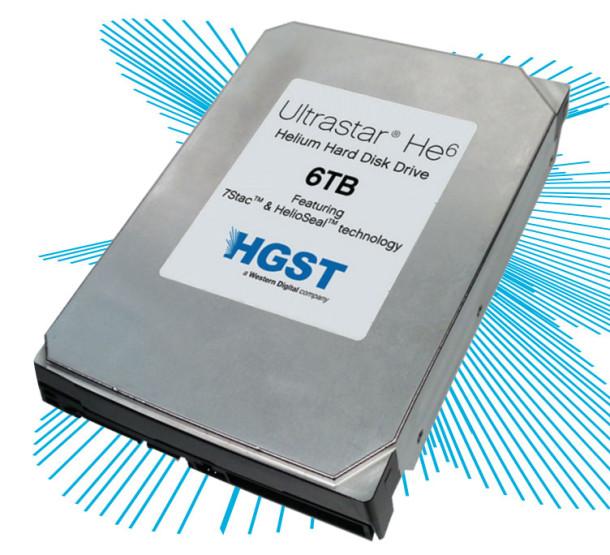 Ultrastar He6 формата 3,5 дюйма