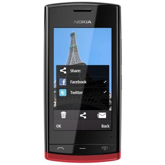 Недорогой смартфон Nokia 500 и новый принцип