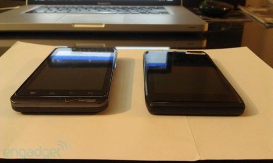 Первое фото Motorola DROID HD
