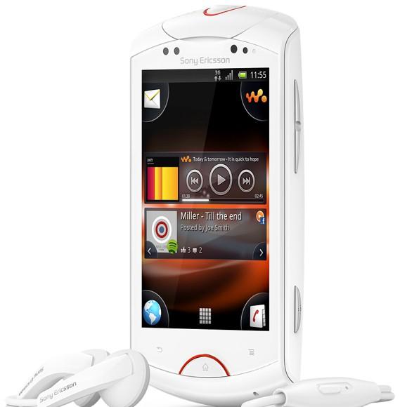 Sony Ericsson Live with Walkman - Android с музыкой