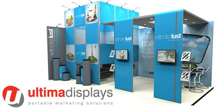 Экспозиция Ultima Displays на выставке FESPA