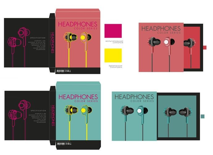 Color headphones